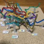 ネタで手に入れた東京地下鉄立体路線図がついに完成。高低差がよくわかる。